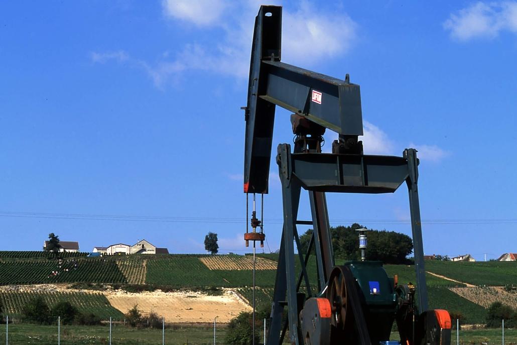 France Oil production, Paris Basin