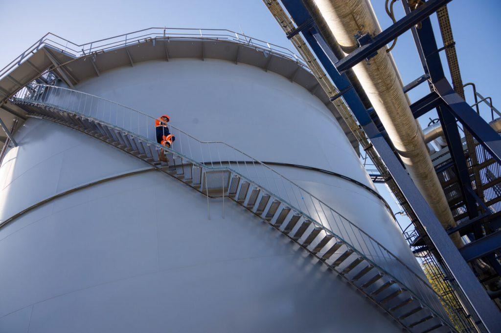 Paris Basin - Maclaunay oil storage