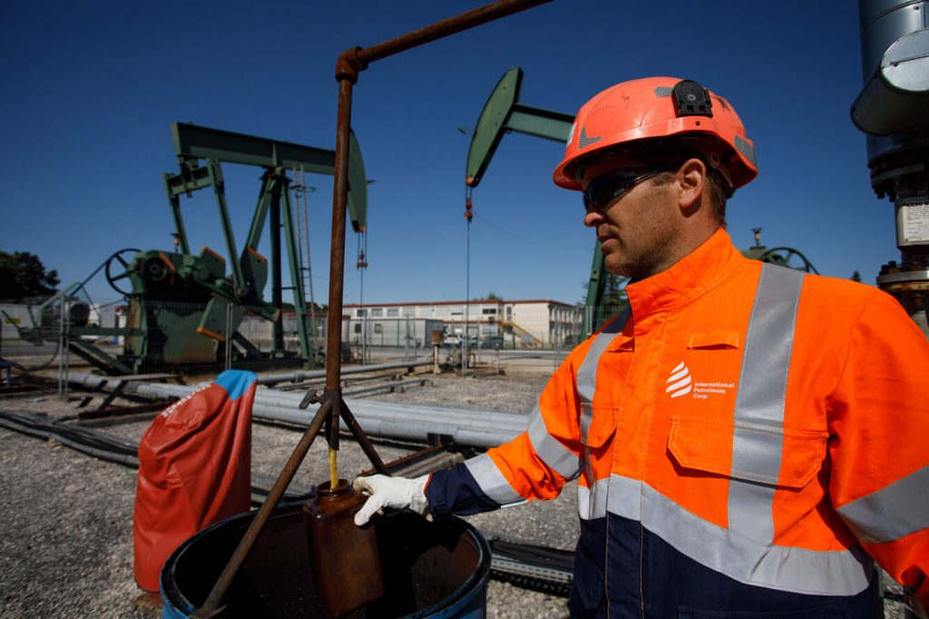 Paris Basin - Oil sample for analysis
