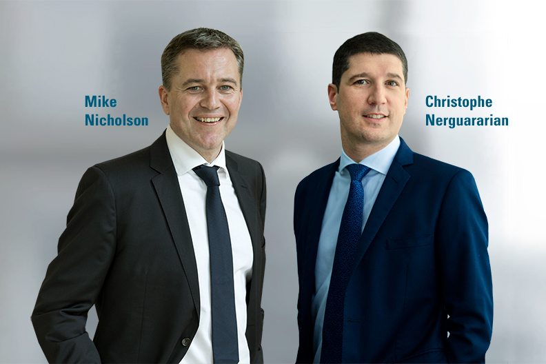 Mike Nicholson and Christophe Nerguararian - webcast