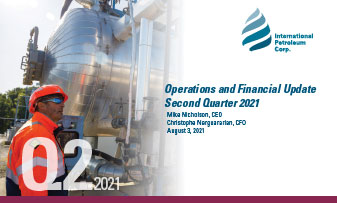 Q2 2021 operations and financial update